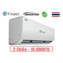 Điều hòa Casper inverter 2 chiều 18000Btu IH-18TL22